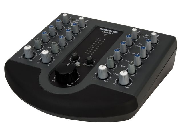 If you just want 4-channel line input mixer, consider the U.420.