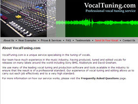 VocalTuning.com fixes your singing