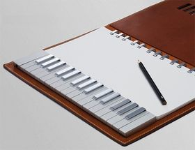 Yamaha keyboard/notepad hybrid