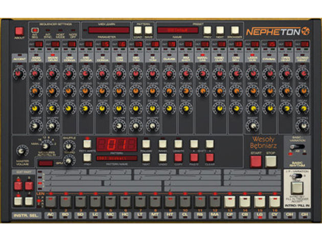 d16's Nepheton is a great emulation of the grime-friendly Roland TR-808.