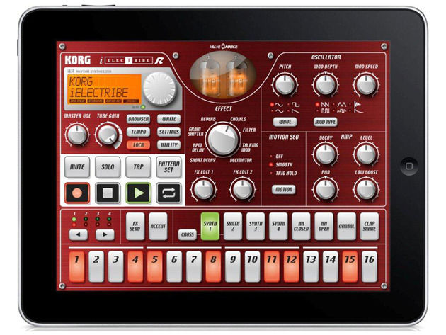 Electribe on the iPad