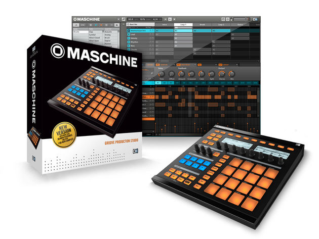 Maschine 1.5 emulates more classic drum machines.