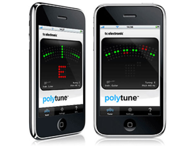 Will the iPhone edition of PolyTune work as well as the pedal?