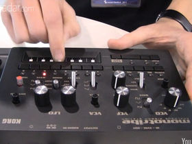 Musikmesse 2011: Korg monotribe video demo