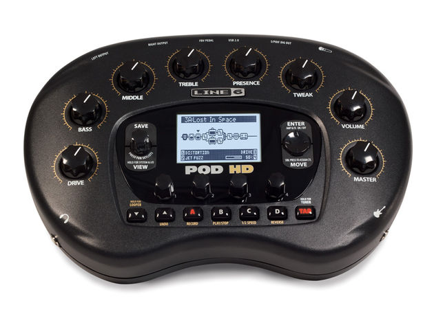 Line 6 POD HD desktop multi-effect