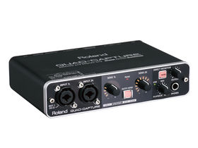 Musikmesse 2011: Roland Quad-Capture audio interface announced
