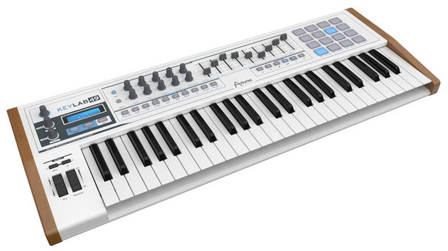 Arturia KeyLab 49: click through for the other models.