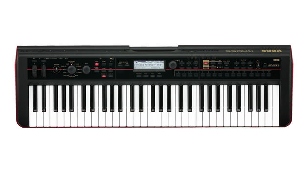 Korg Kross 61: the most portable of Korg's new workstations.