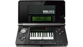 Korg M01D for Nintendo 3DS now available for download