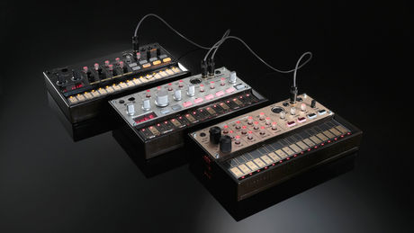 Korg's Volca series: we can't decide which one we want most.