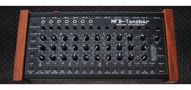 The Tanzbär drum machine.