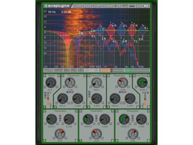 Axis Plug-ins Track EQ
