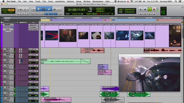 Pro Tools 11 includes new audio and video engines.