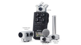 Zoom H6 Handy Recorder introduced in video