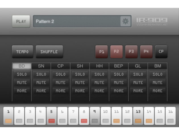 Now you can create 909-style beats anywhere.