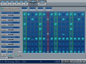 WusikGrooveBox lets you create beats in your DAW
