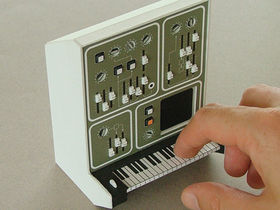 Cardboard synths are boxfresh