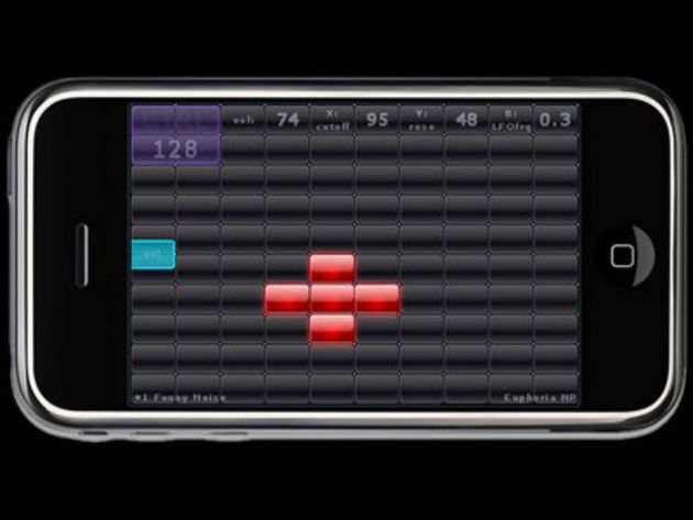 Amido's iPhone synthesizer
