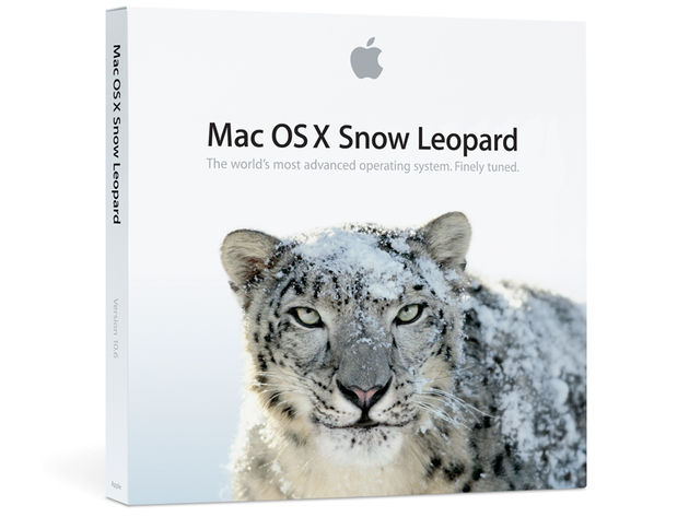 Mac OS X Snow Leopard: significantly less rare than the animal it's named after.
