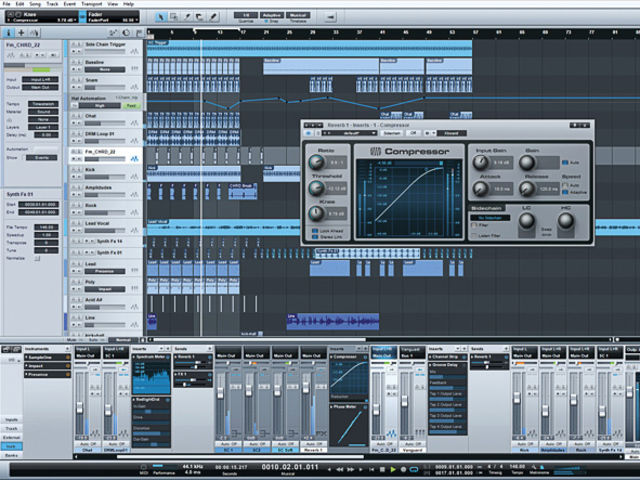 Are you looking at your new favourite DAW? Try it and see.