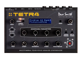 Dave Smith Tetra synth is 'four Mophos'