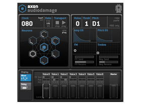 Audio Damage Axon is experimental sequencer/synth