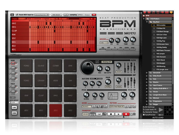 BPM 1.5 ships with a 19GB sound library.