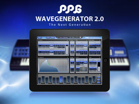EXCLUSIVE: PPG WaveGenerator for iPad