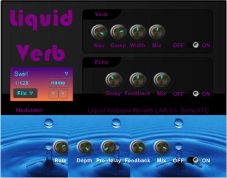 SonicXTC liquid verb