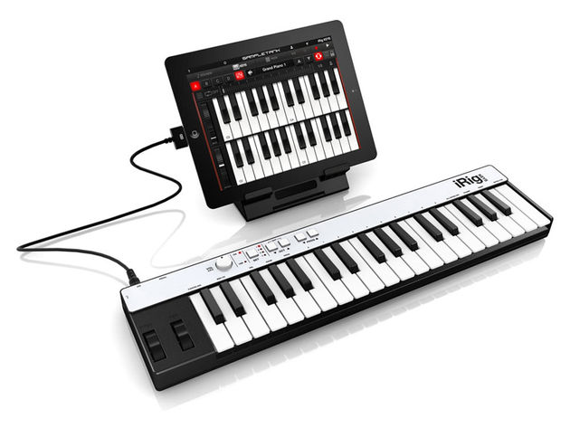 iRig Keys comes with versions of SampleTank for iOS and Mac/PC.