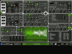 LinPlug CrX4 sampling synth released