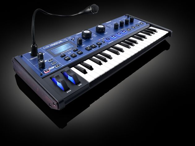 Novation MiniNova: scroll through the gallery for more shots.