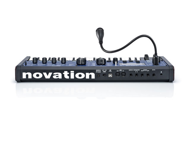 Novation MiniNova rear.