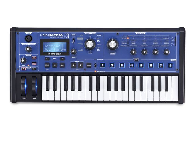 Novation MiniNova top.