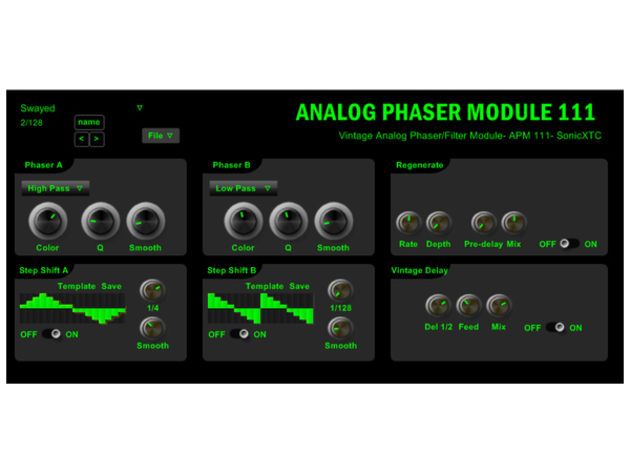 SonicXTC Analog Phaser Module 111