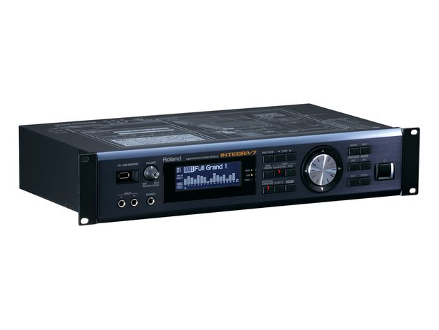 Integra-7 can also function as an audio interface.