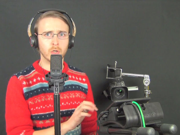 Last Christmas... someone gave Brett that jumper.