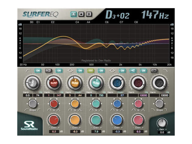 SoundRadix Surfer EQ