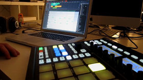 VIDEO: Bitwig Studio controlled by NI Maschine