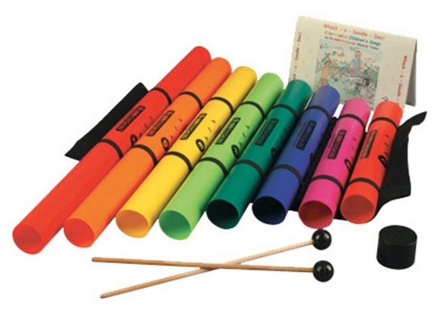 Boomwhackers tuned percussion tubes