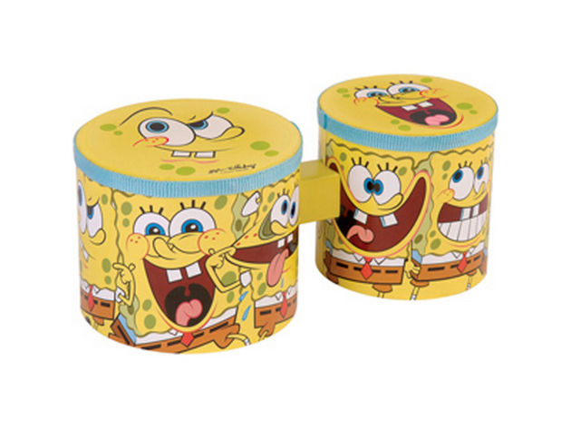 SpongeBob Squarepants mini bongos