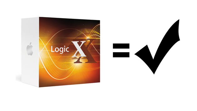Logic Pro lives! [NB. in case you didn't guess, the image above is a mock-up, and certainly not the official packaging, name or announcement of the new Logic]