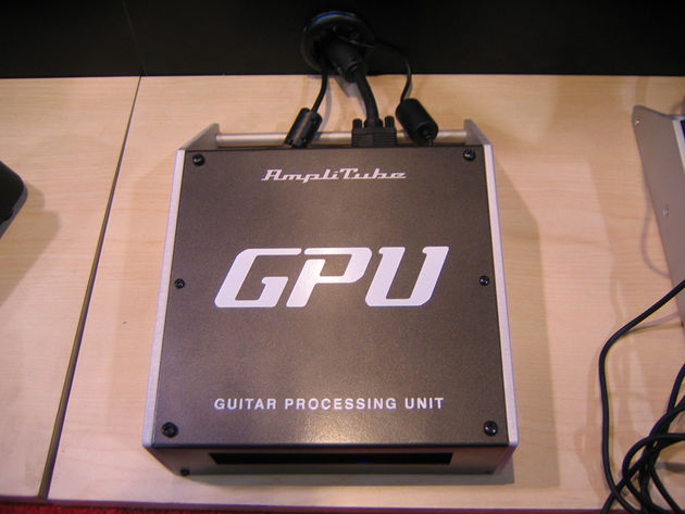 The Guitar Processing Unit can power AmpliTube on its own.