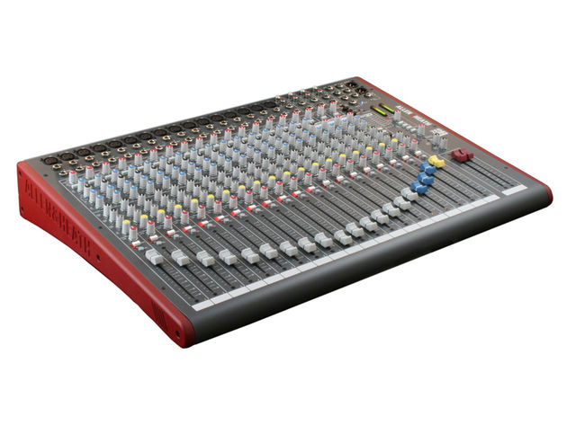 The ZED-22FX is the larger of the two mixers.