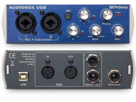 PreSonus AudioBox USB set for April release