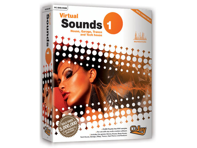 Virtual Sounds 1 contains samples from Carl Cox.