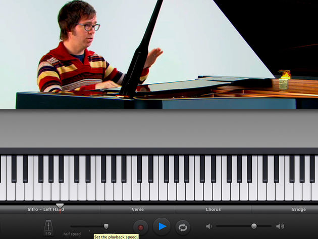 Ben Folds: ready to slap your hands with a ruler if you fail.