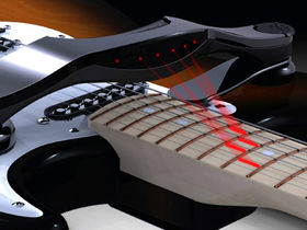'Laser guitar' could teach you to play