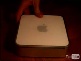 Now 'new Mac mini' appears in video