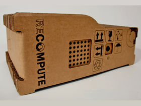 Cardboard PC promises sustainable computing